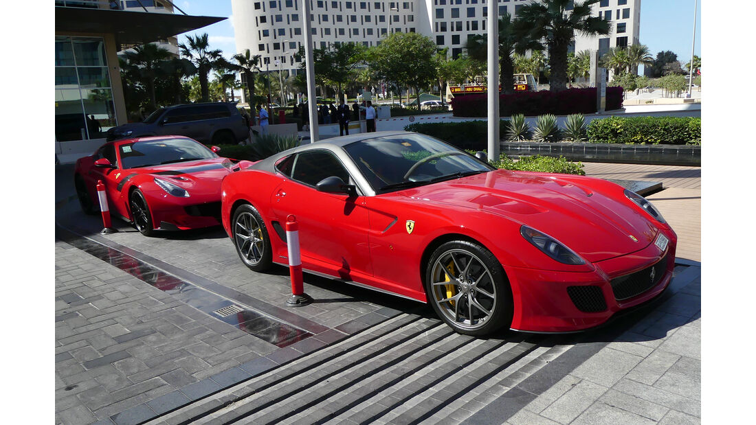 Ferrari 599 GTO - Carspotting - Abu Dhabi 2017