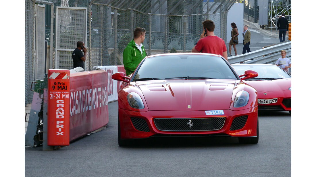 Ferrari 599 GTO -  Carspotting - Formel 1 - GP Monaco 2015