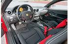 Ferrari 599 GTO, Cockpit