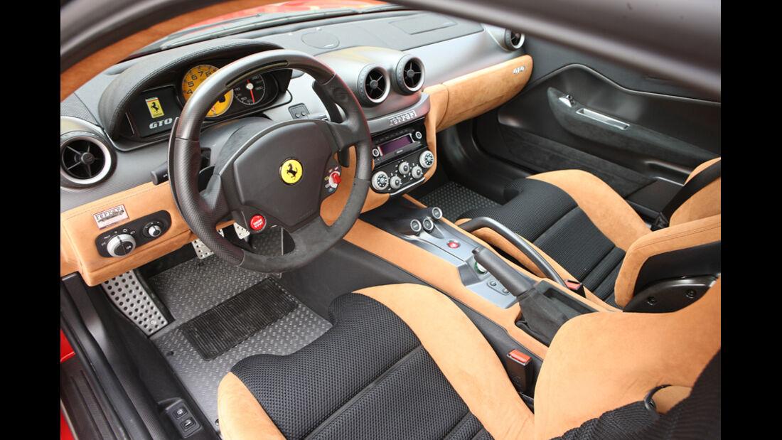 Ferrari 599 GTO Innenraum