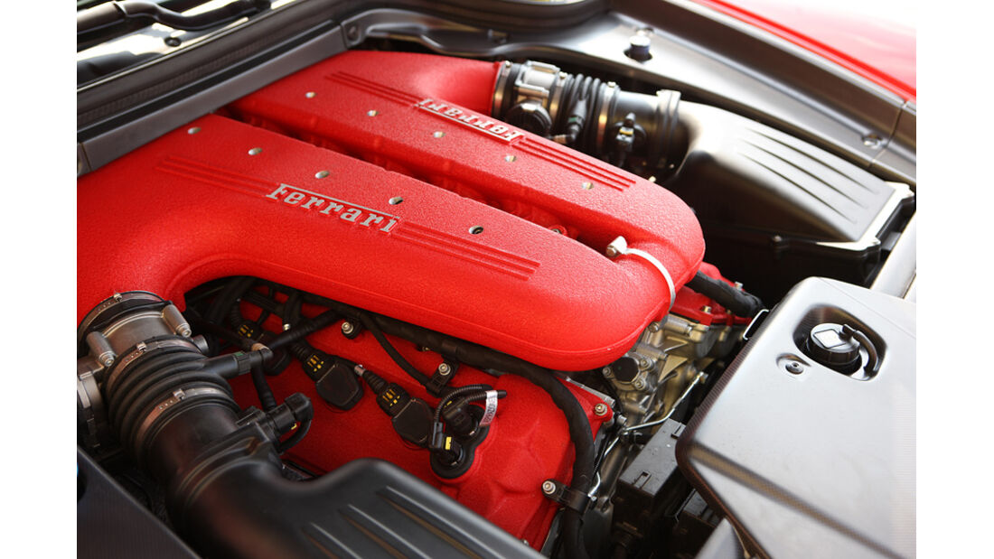 Ferrari 599 GTO Motor