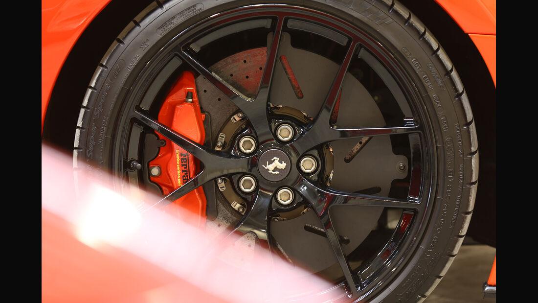 Ferrari 599 GTO, Rad, Felge