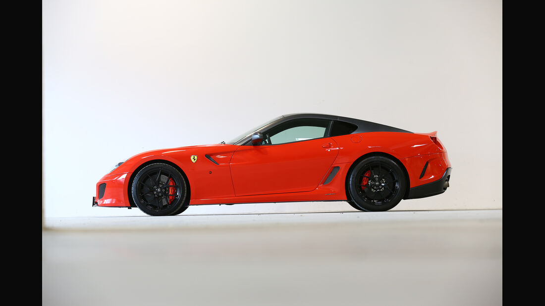 Ferrari 599 GTO, Seitenansicht