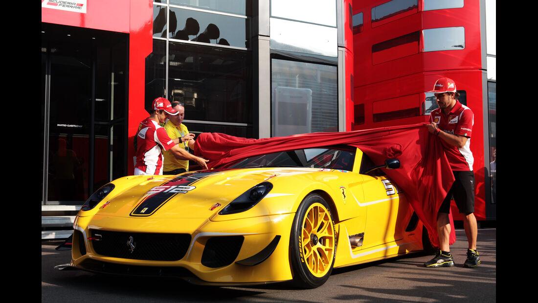 Ferrari 599 XX Evo 512 GP Italien 2012 Monza