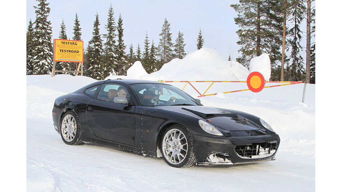 Ferrari 612 Muletto Erlkönig