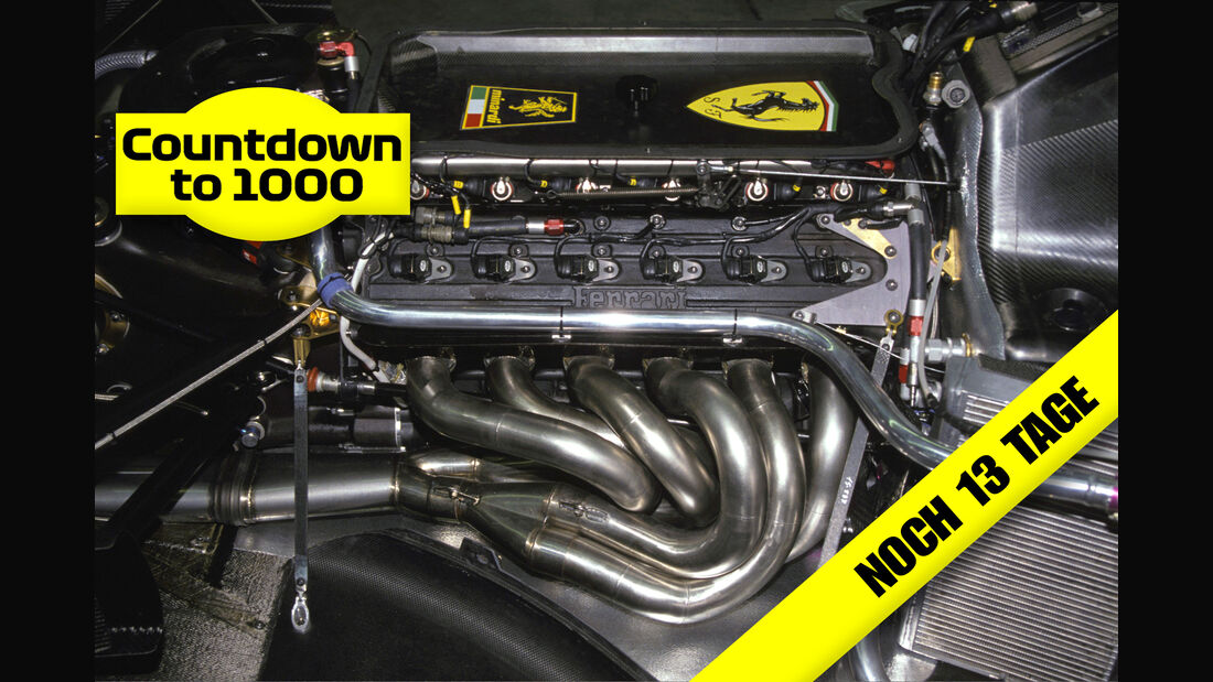 Ferrari 642 - V12-Motor