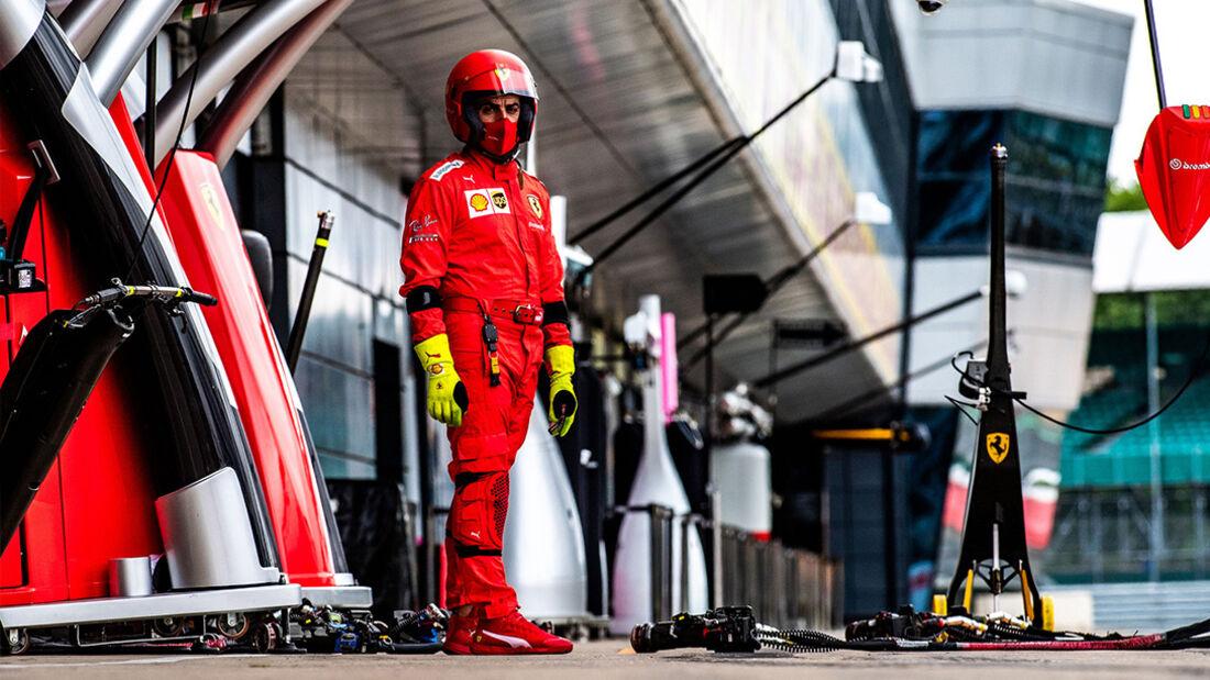 Ferrari - 70 Jahre F1 GP - Silverstone - Formel 1 - 6. August 2020