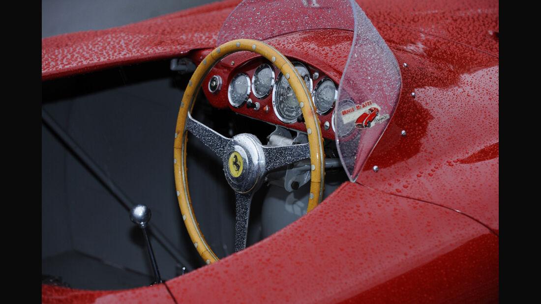 Ferrari 750 Monza, Cockpit