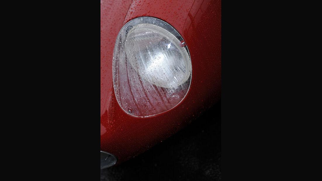 Ferrari 750 Monza, Scheinwerfer