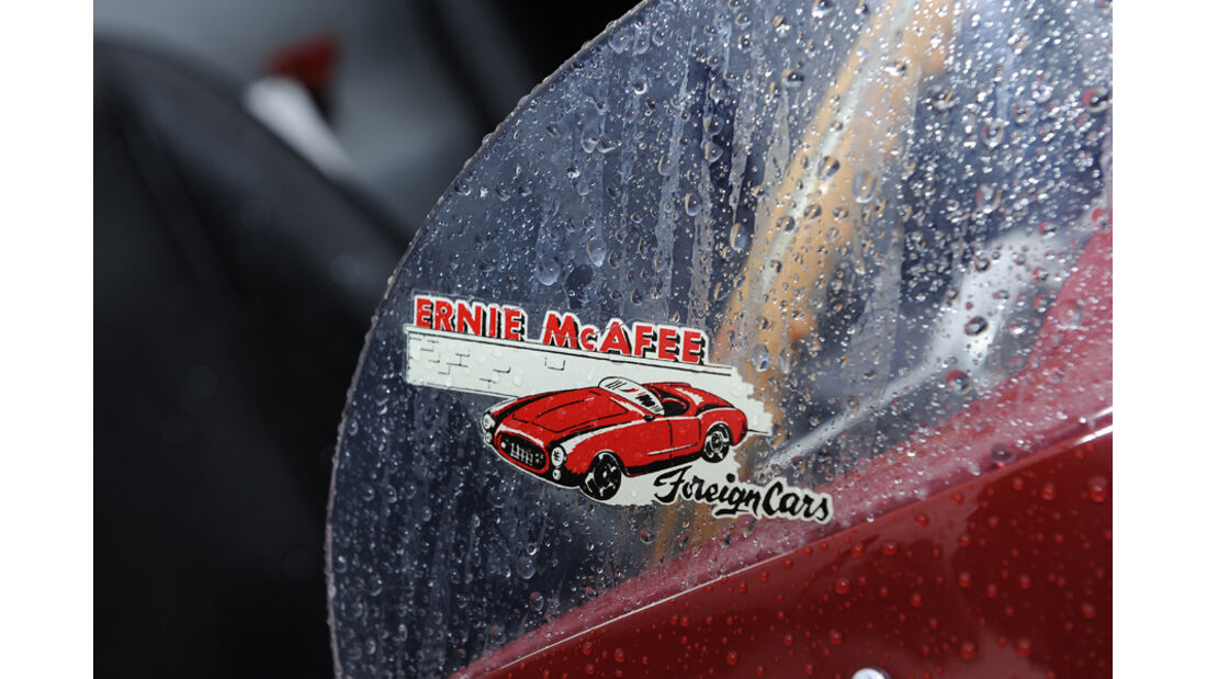 Ferrari 750 Monza, Windschutzscheibe