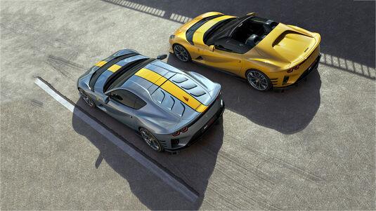 Ferrari 812 Competizione und Competizione A