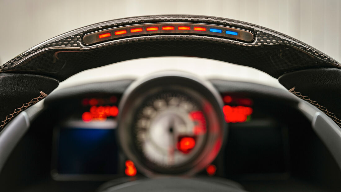 Ferrari 812 GTS, Interieur