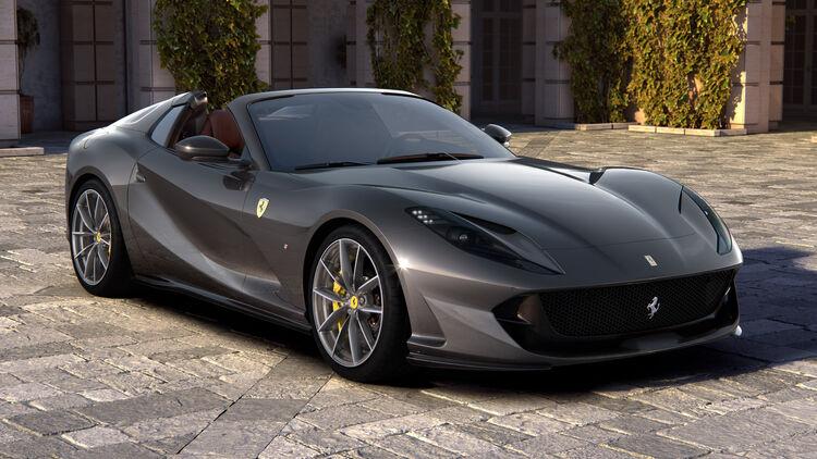 Ferrari 812 Gts Der V12 Spider Ist Zurück Auto Motor Und Sport