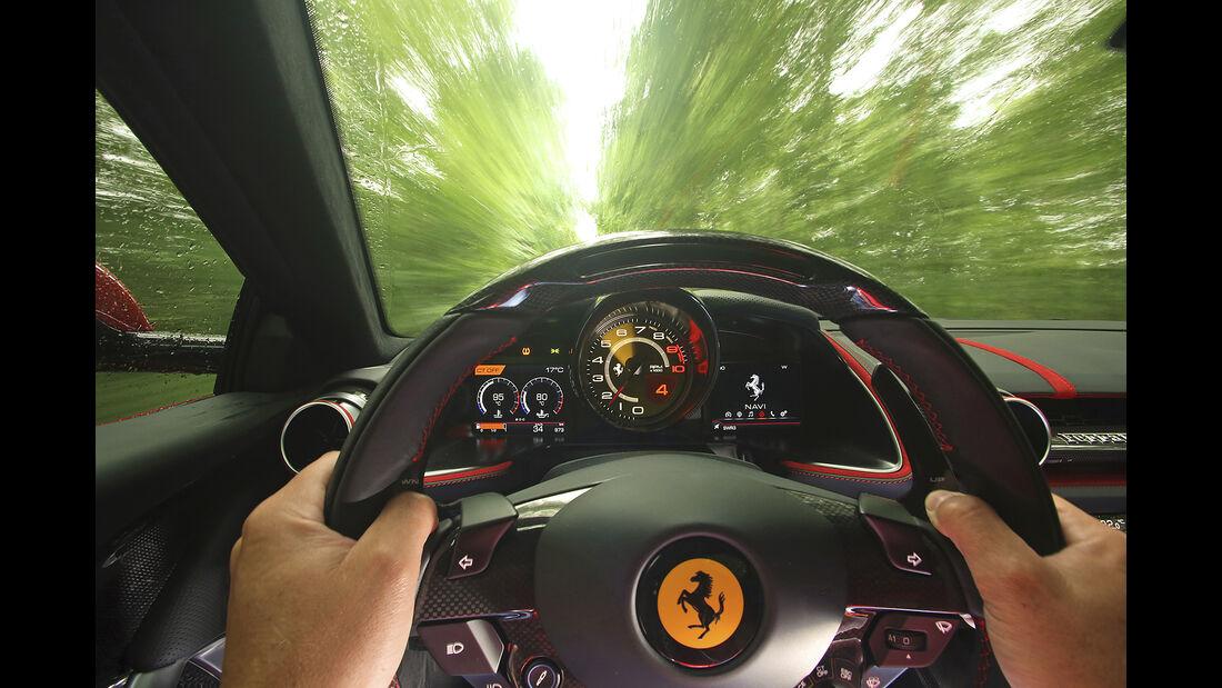 Ferrari 812 Superfast, Interieur