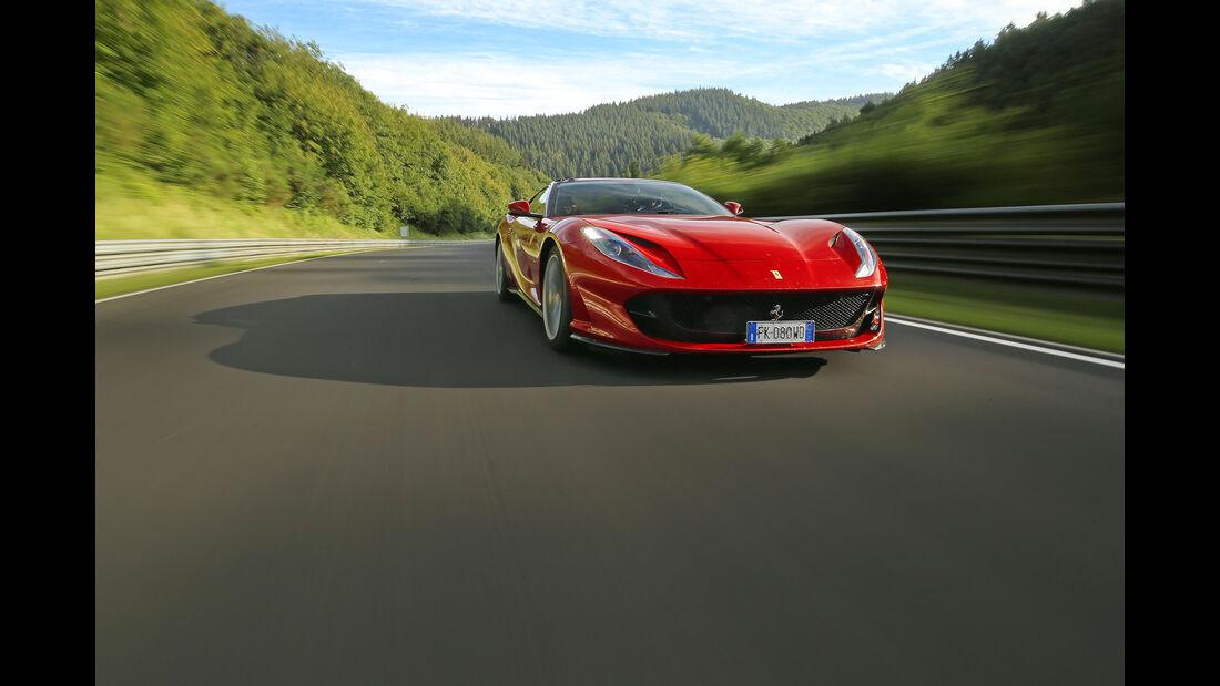 Ferrari 812 Superfast - Sportwagen - Nürburgring - Nordschleife - Supertest