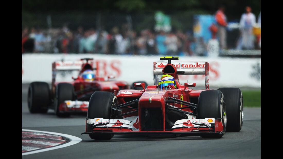Ferrari - Alonso & Massa - GP Kanada 2013