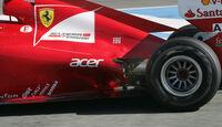 Ferrari-Auspuff - F1-Test Jerez 2012