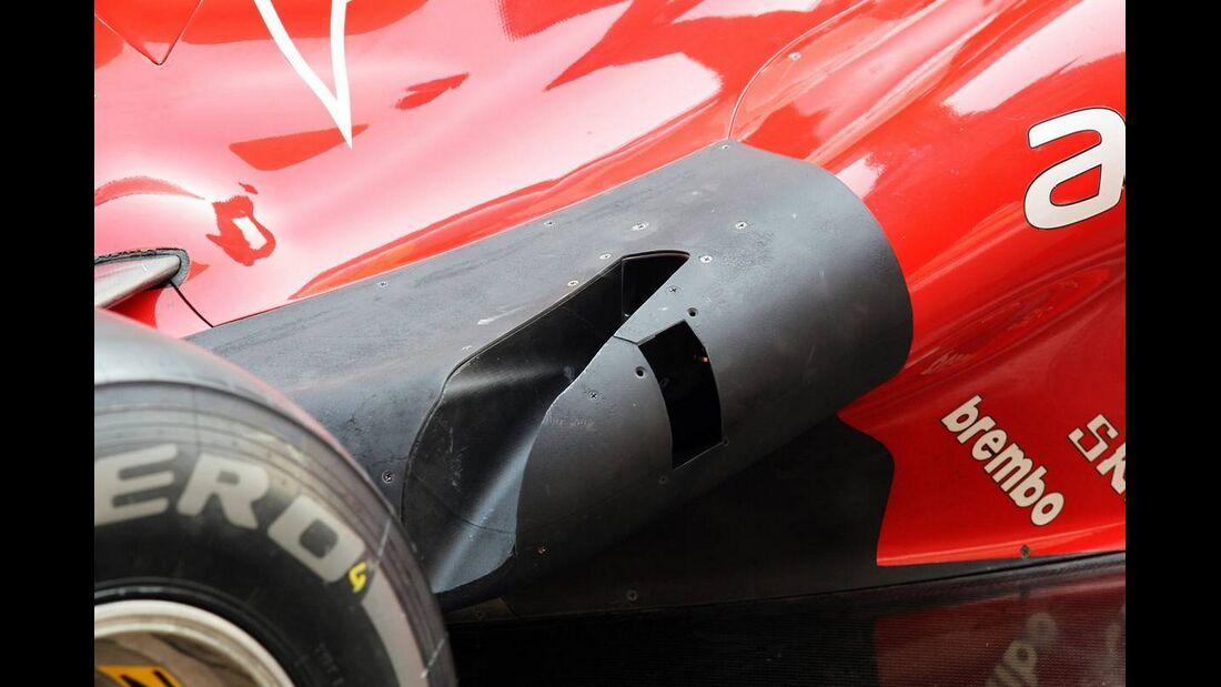 Ferrari Auspuff - Formel 1 - GP Indien - 26. Oktober 2012