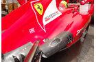 Ferrari Auspuff GP Spanien 2012