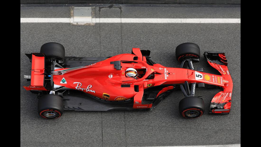 Ferrari - Barcelona F1-Test 2018