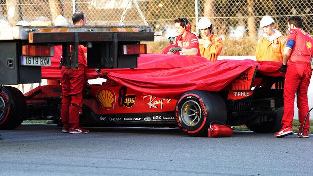 Ferrari - Barcelona F1-Test - 2019