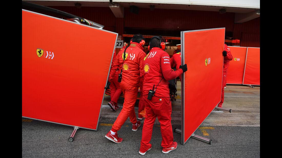 Ferrari - Barcelona - F1-Test - 21. Februar 2019