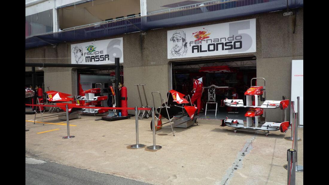 Ferrari Box GP Kanada 2011