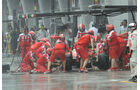 Ferrari Boxenstopp