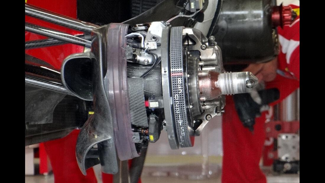Ferrari-Bremse - Formel 1 - GP Kanada 2012 - 8. Juni 2012