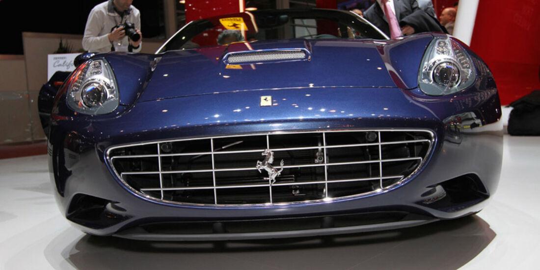 Ferrari California, Autosalon Genf 2012, Messe, Sportwagen