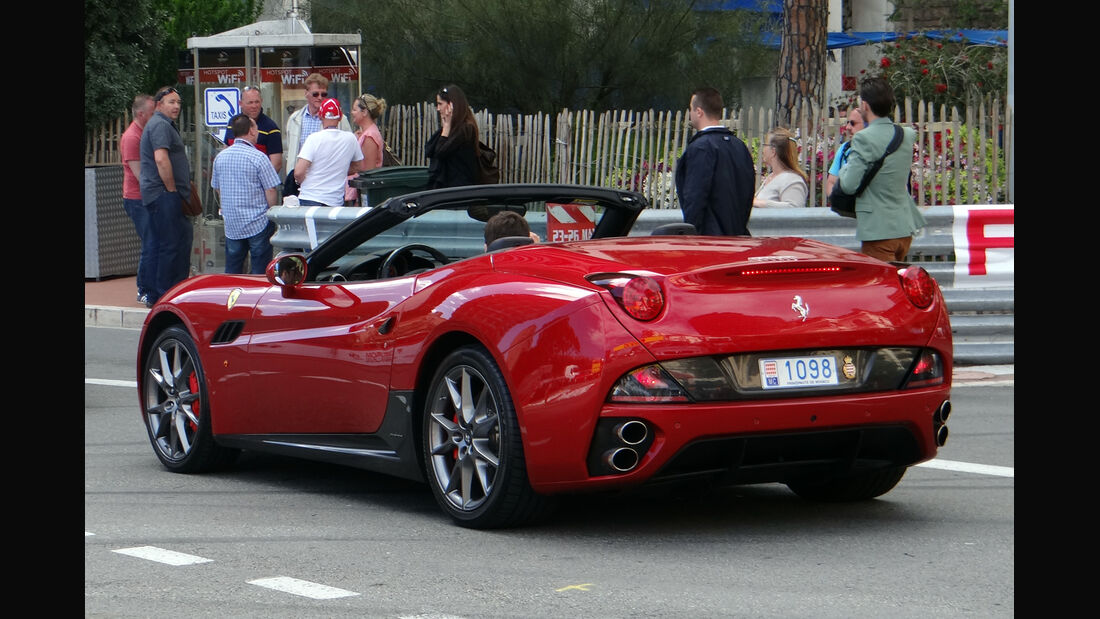 Ferrari California - Car Spotting - Formel 1 - GP Monaco - 24. Mai 2013