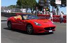 Ferrari California -  Carspotting - Formel 1 - GP Monaco 2015