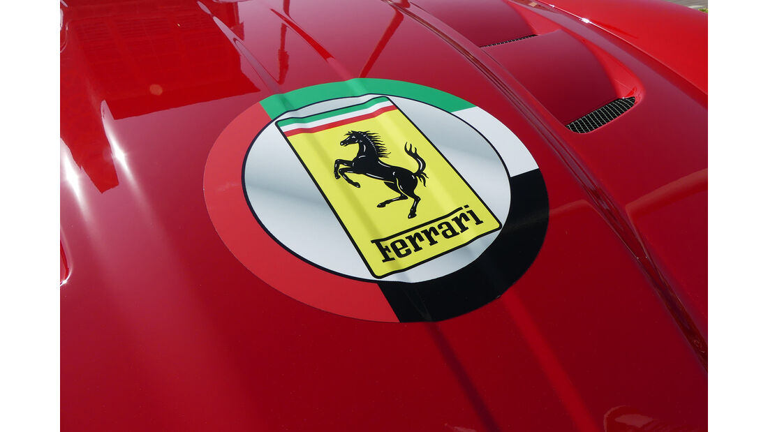 Ferrari California - Carspotting - GP Abu Dhabi 2016