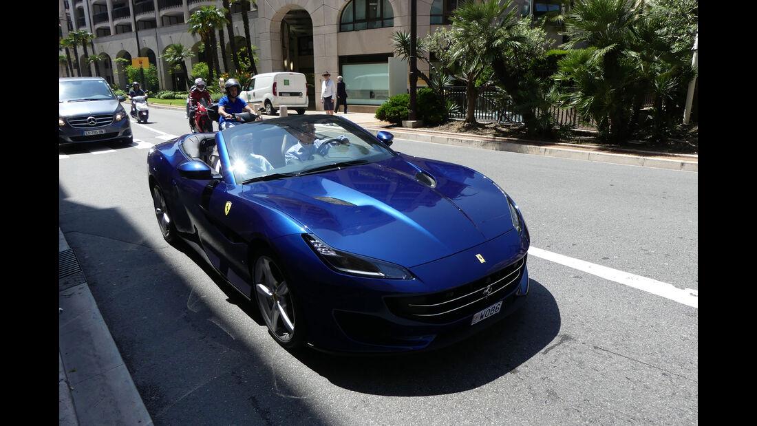Ferrari California - Carspotting - GP Monaco 2018