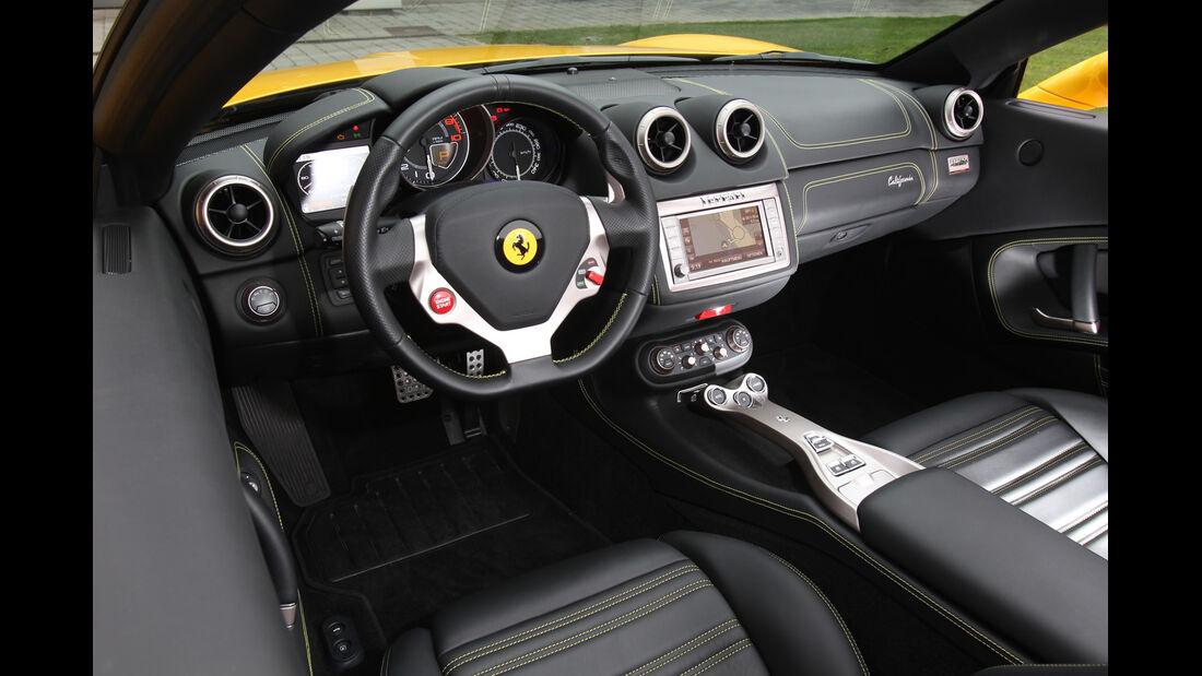 Ferrari California, Cockpit, Lenkrad