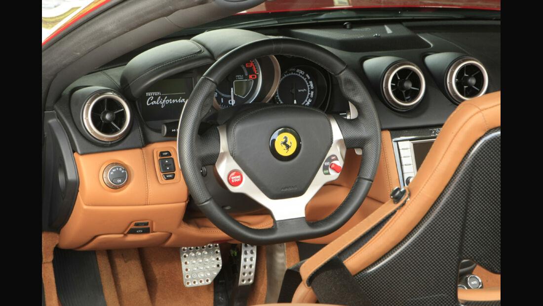 Ferrari California Cockpit