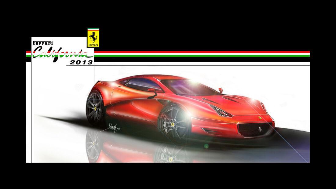Ferrari California Concept - Daniele Pelligra - 2013