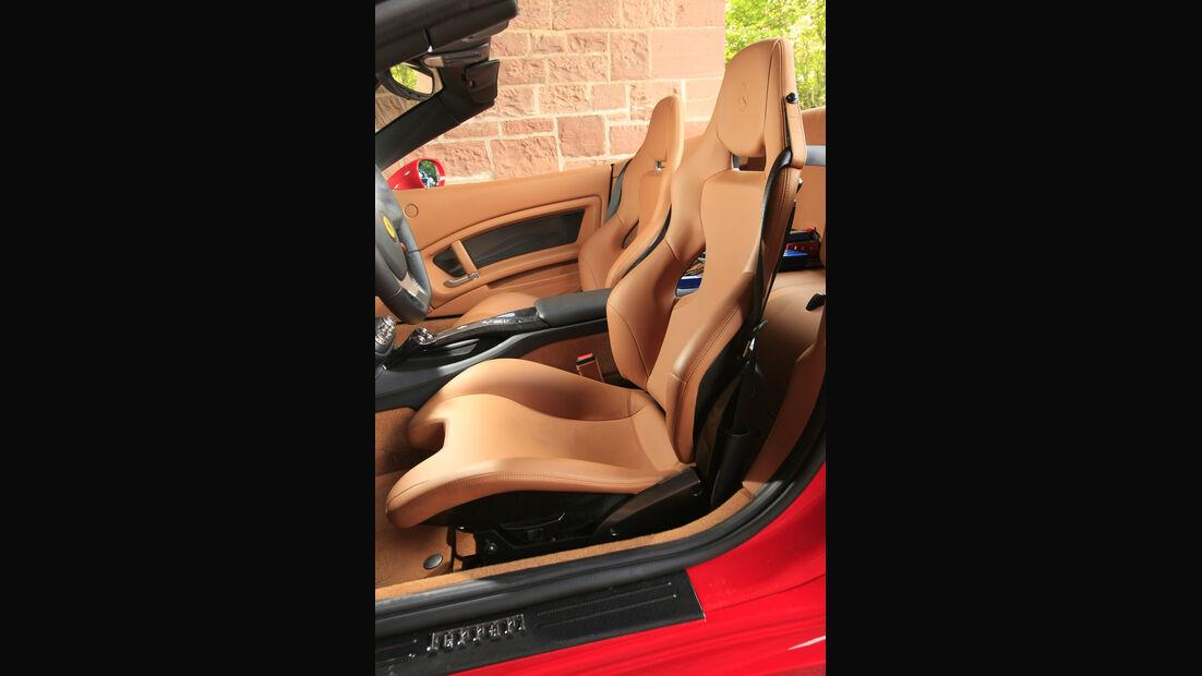 Ferrari California Fahrersitz