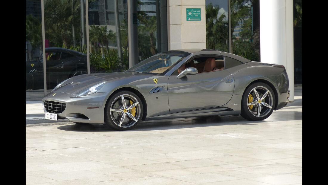 Ferrari California - GP Abu Dhabi - Carspotting 2015