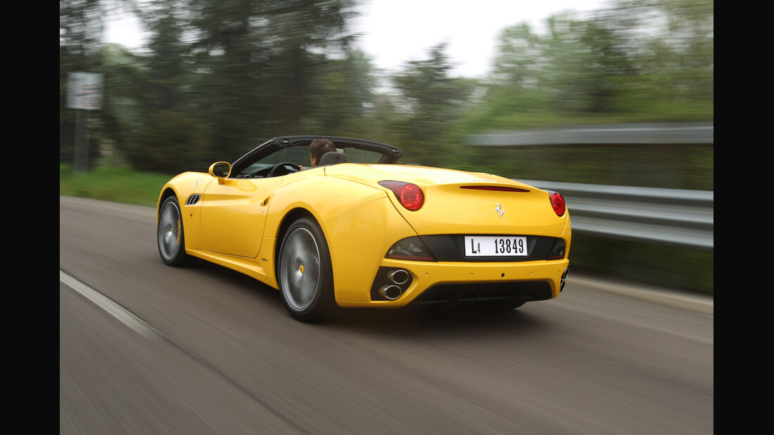 Ferrari California, Heck