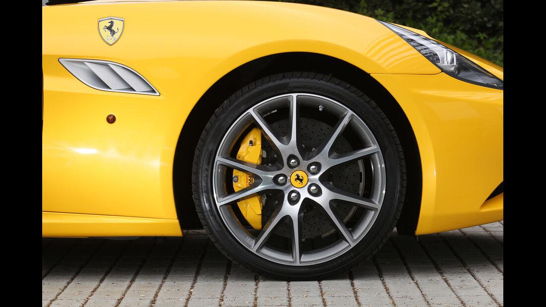Ferrari California, Rad, Felge