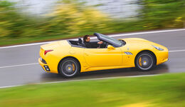 Ferrari California, Seitenansicht
