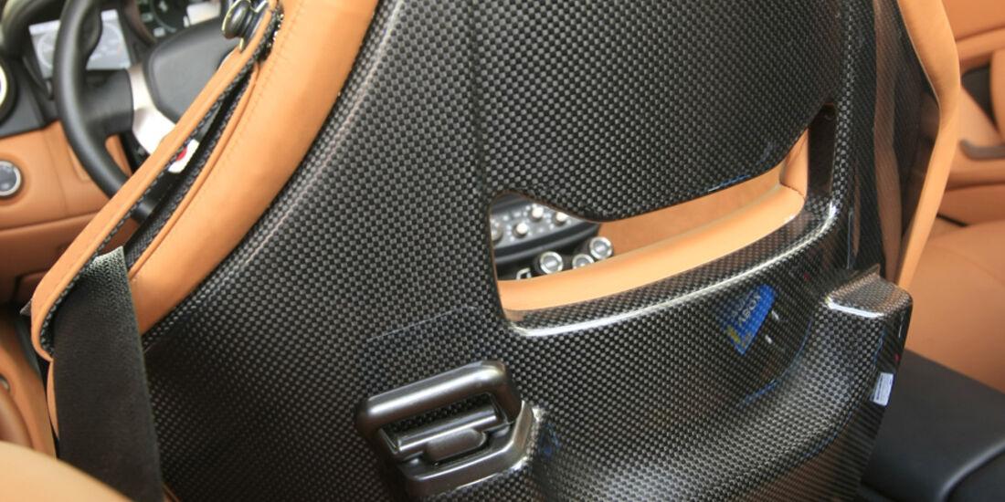 Ferrari California Sitzrückenschale