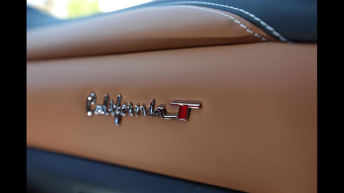 Ferrari California T, Detail, Leder