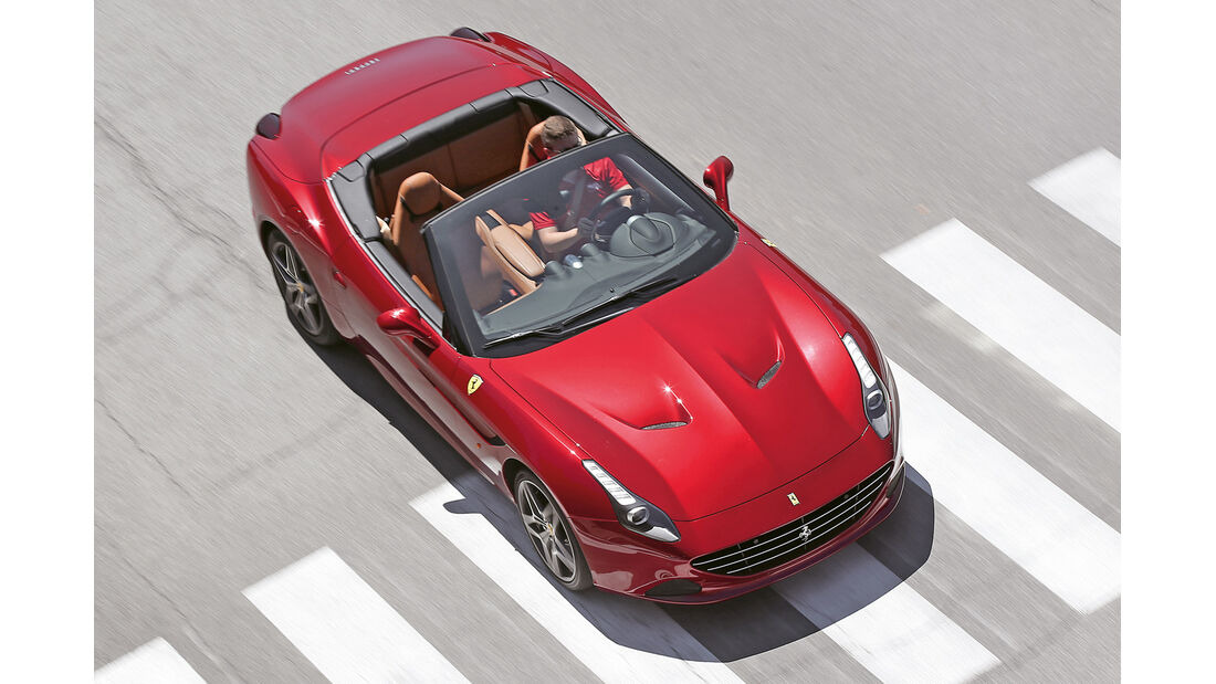 Ferrari California T, Draufsicht