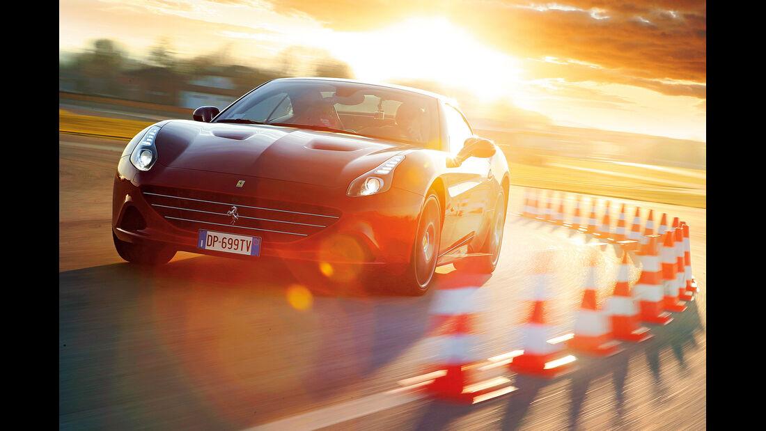 Ferrari California T, Frontansicht