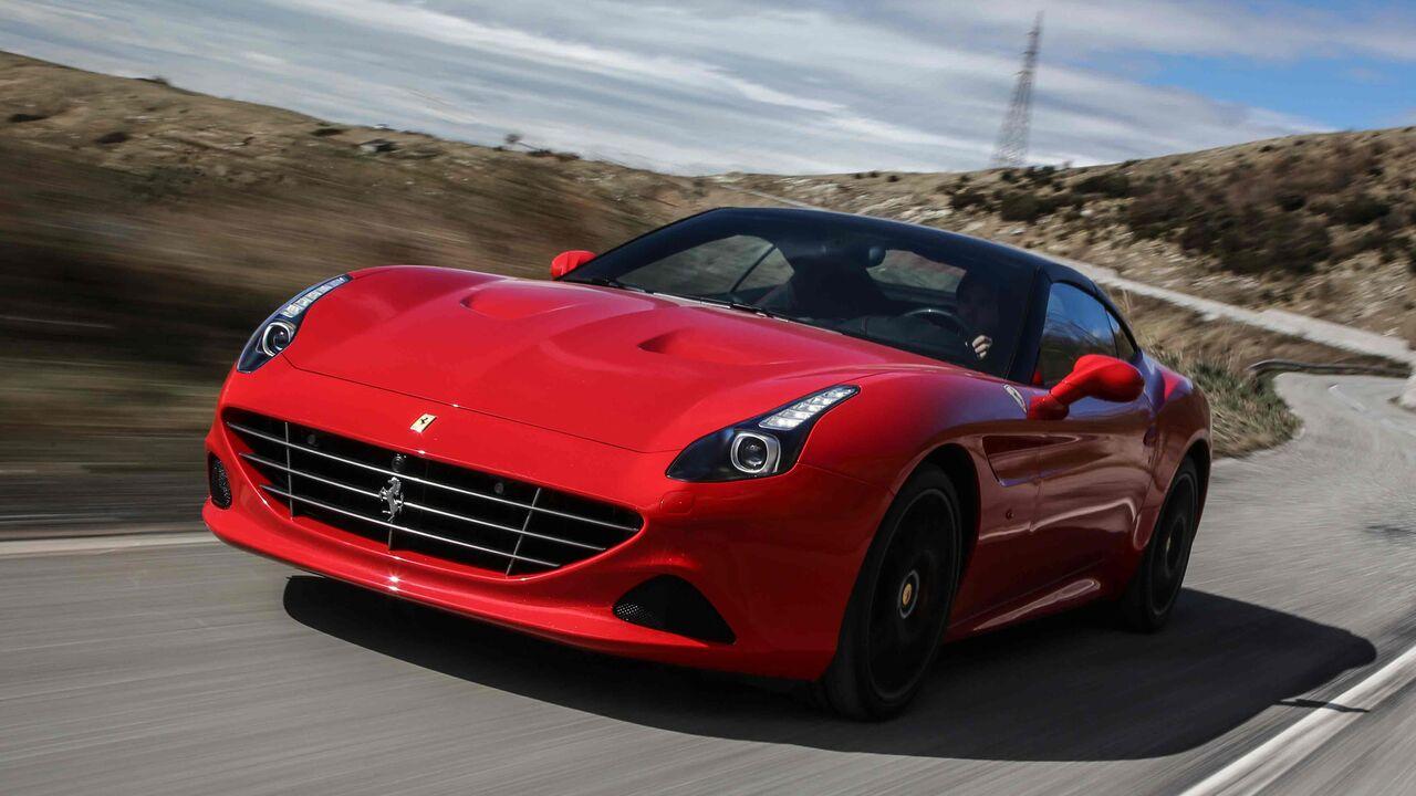 Ferrari California T Handling Speciale Fahrbericht Auto Motor Und Sport