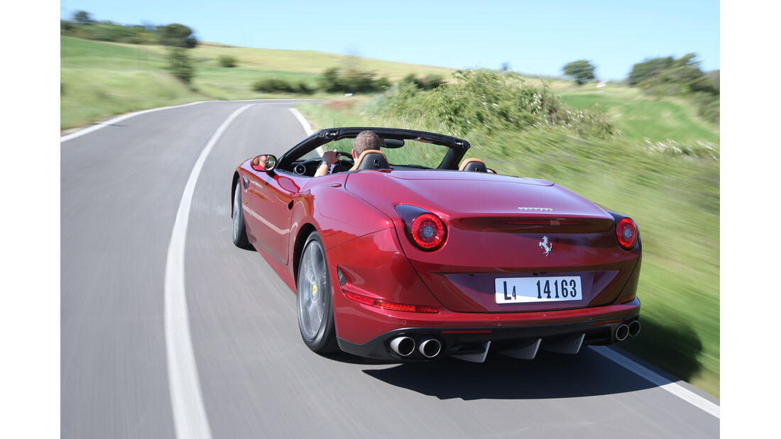 Ferrari California T, Heckansicht