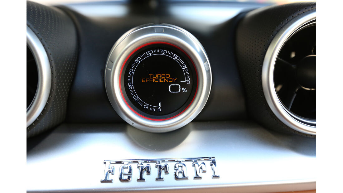 Ferrari California T, Lader, Anzeigeinstrument