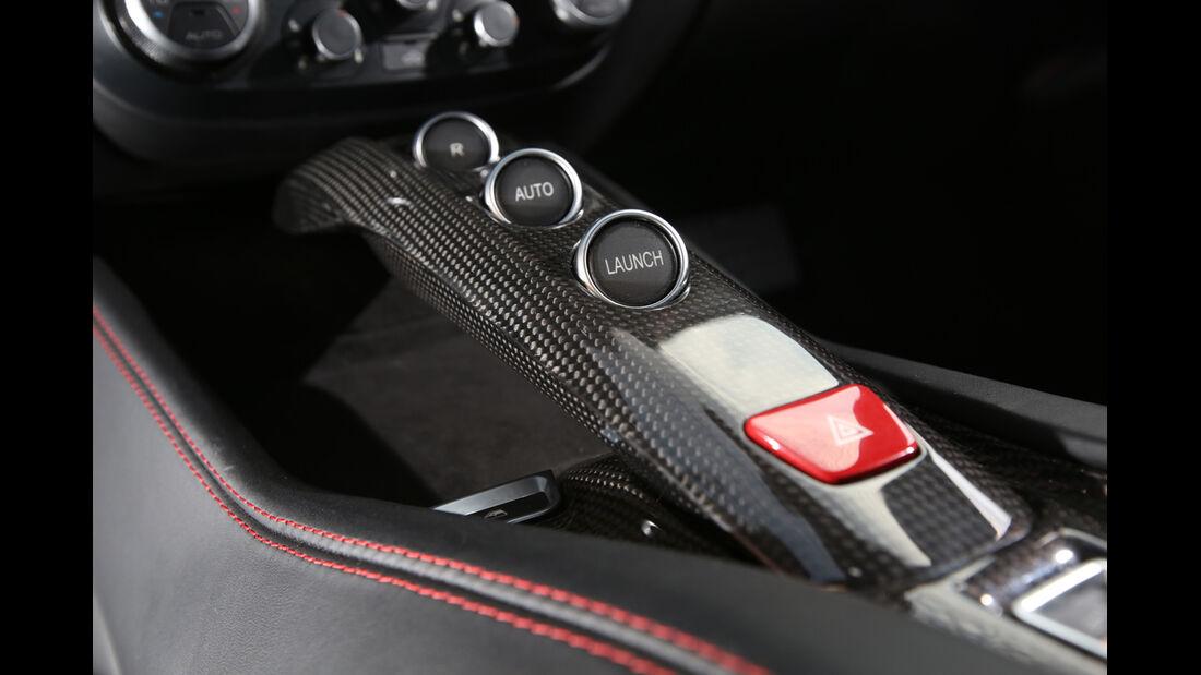 Ferrari California T, Mittelkonsole